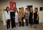 Michelle Cotton, Lisa Fingleton, Jenny Brady, Eleanor Duffin, Giddy Biddy